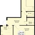 2 комнатные